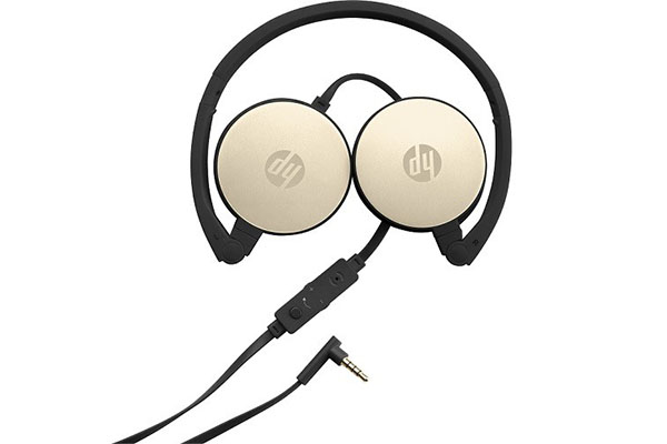 HP 2800 SILVER-GOLD HEADSET -2AP94AA