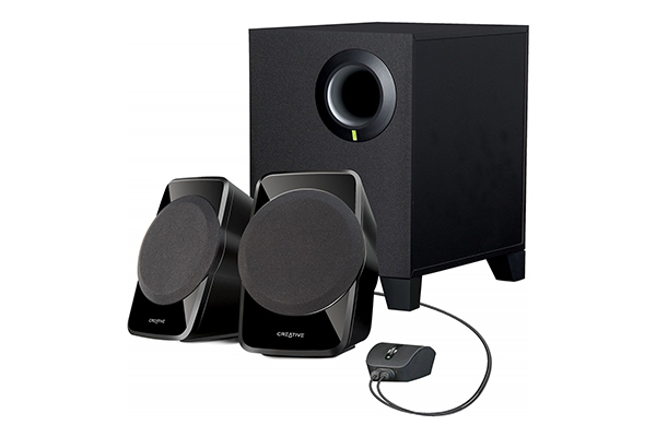 CREATIVE SBS A-120 - 2.1 CHANNEL MULTIMEDIA SPEAKER SYSTEM - BLACK