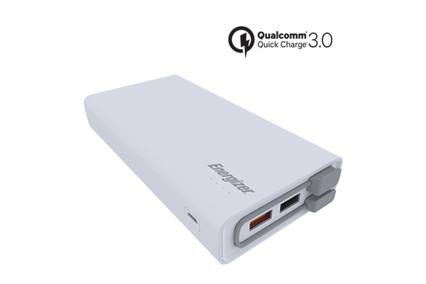 ENERGIZER POWER BANK 20000 mAh QC 3.0 - UE20001QC_WH