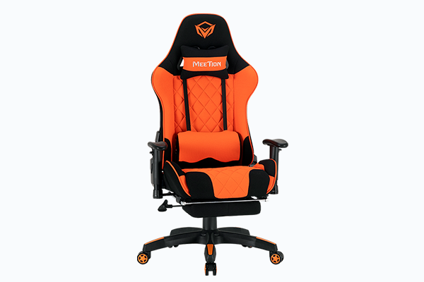 Meetion Fully Featured Reclining Gaming Chair with Footrest - CHR25