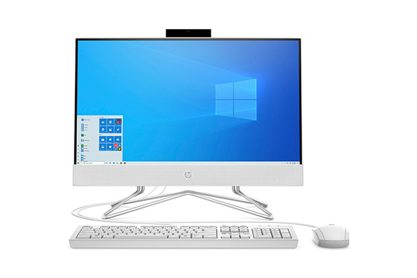 HP All-in-One PC 22-df0000ne - Core™ i3-1005G1 - 4GB RAM - 1TB HDD  - 22'' Display - Win10 Home - 21U10EA