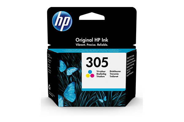 HP 305 Tri-color Original Ink Cartridge - 3YM60AE