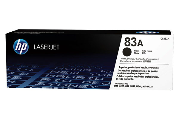 HP 83A Black Original LaserJet Toner Cartridge - CF283A