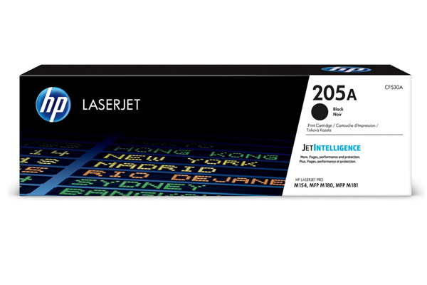 HP 205A Black Original LaserJet Toner Cartridge - CF530A
