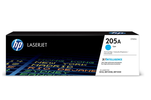 HP 205A Cyan Original LaserJet Toner Cartridge - CF531A