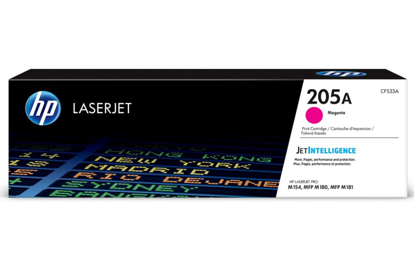 HP 205A Magenta Original LaserJet Toner Cartridge - CF533A