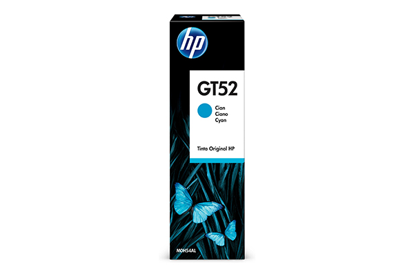 HP GT52 Cyan Ink Bottle - M0H54AE