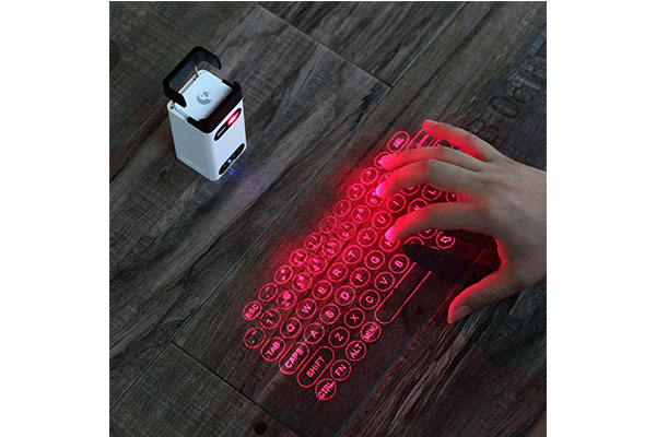 M1 laser projection keyboard with power bank