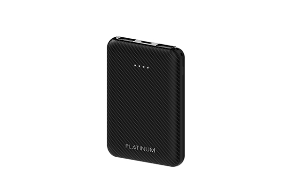 P-PBCBN6BK - CARBON Series Power Bank 6000mAh - Black