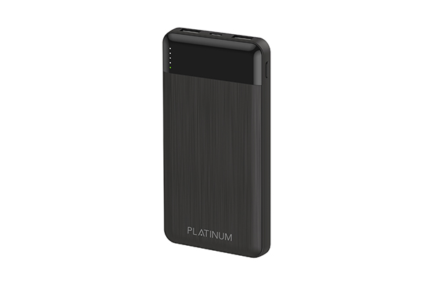 Platinum ELEGANCE Series Power Bank 10000mAh - Black QC 3.0 + PD - P-PBELG10BK