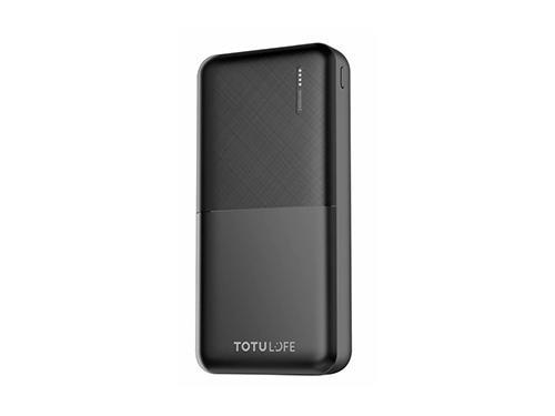 TOTU COMPACT SERIES POWER BANK 24000 MAH BLACK (T-CSPBM24)